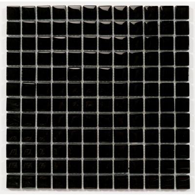 Mosaïques en verre christal 'Chrystal Black' 30 x 30 x 0.8 cm