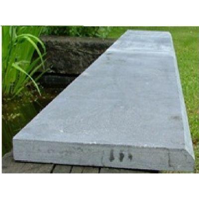Sousbassement en pierre bleue chinoise 100 x 60 x 3 cm